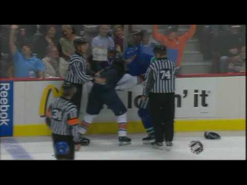 Mattias Ohlund vs. Erik Cole