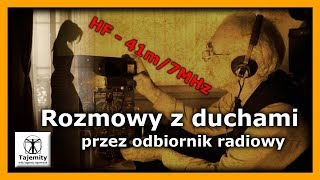 Rozmowy z duchami przez odbiornik radiowy