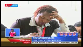Strathmore Law School hold mock court proceedings to educate on the Gender rule debate