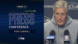 Head Coach Pete Carroll Week 16 Monday Press Conference | 2019 Seattle Seahawks