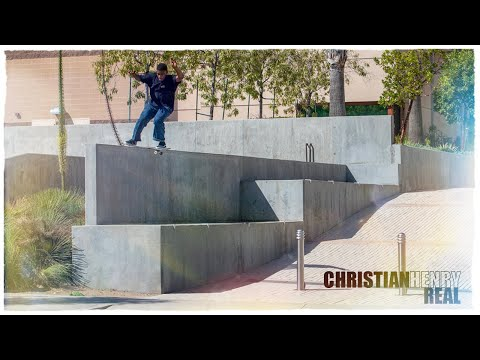 Real Skateboards Presents Christian Henry