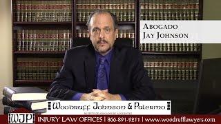 Woodruff Johnson & Palermo abogado Jay Johnson tres beneficios de compensación de trabajadores