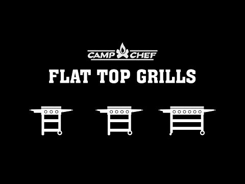 Camp Chef Flat Top Grills Overview Video