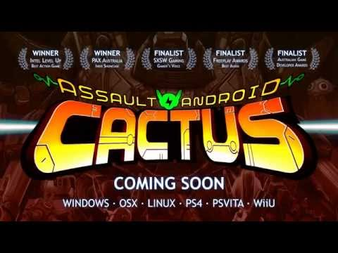 Assault Android Cactus - Official Trailer thumbnail