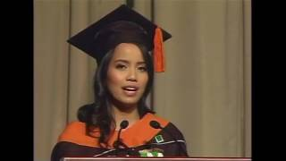 Sam Razon DLSU Graduation Speech on Falling in Love