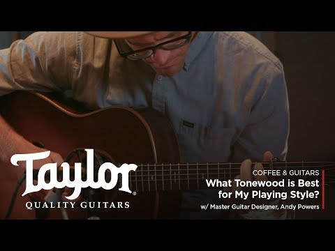 What Tonewood is Best for My Playing Style? | Coffee & Guitars w/ Andy Powers