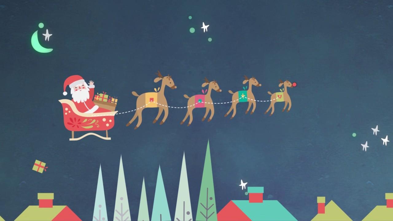Santa Claus viene a la ciudad - Cantoalegre - Video de navidad