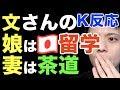 【反応和訳】文さん娘は日本の大学留学!妻は茶道教室!