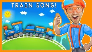 Trains for Children   Fun Train Song by Blippi