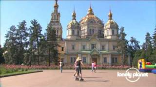 preview picture of video 'Cathedral of Holy Ascension in Almaty, Kazahkstan - Lonely Planet travel video'