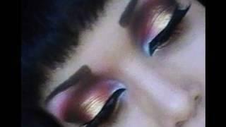 Blood N Gold goth Makeup Tutorial