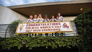 After 6 days of battling at the NCAA Championships Sun Devil Womens