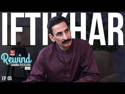 Iftikhar Thakur on Rewind with Samina Peerzada | Funny Interview | Comedian | Jokes | Episode 5