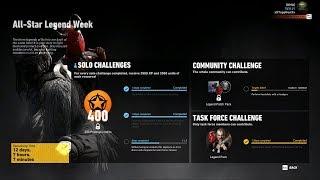 All-Star Legend Week - Task Force Challenge EL TIO Mission - Ghost Recon Wildlands