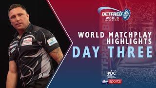 2020 Betfred World Matchplay Highlights | Day Three