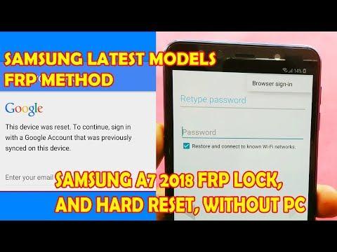 Video A7 2018 Hard Reset And Frp Lock Remove Berita Viral - TERATAS