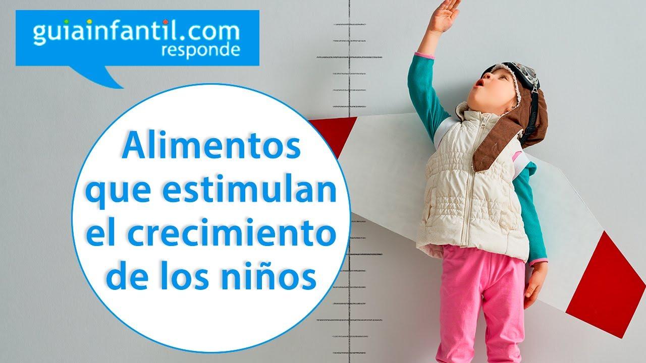 Mejores alimentos para estimular el crecimiento del niño | Guiainfantil responde