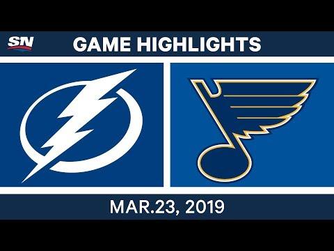 NHL Game Highlights | Lightning vs. Blues – March 23, 2019
