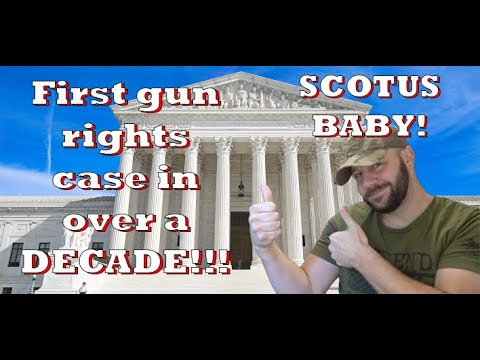 MAJOR GUN CASE TAKEN UP BY THE SUPREME COURT! THIS IS HUGE PEOPLE!!!!