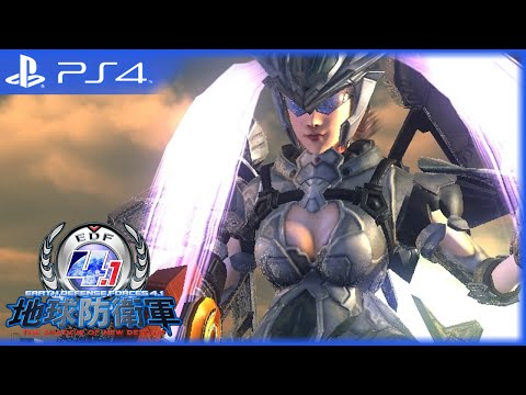Видео № 1 из игры Earth Defense Force 4.1: The Shadow of New Despair [PS4] Хиты PlayStation