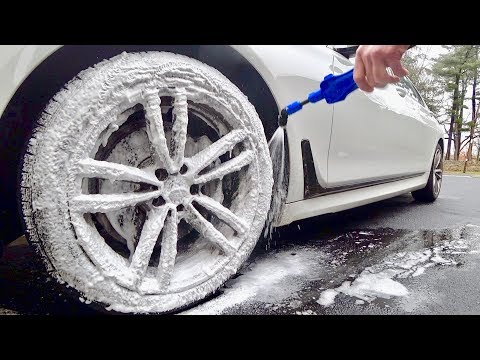 Auto Fanatic Wheel Cleaner & BMW 740i M Wheels