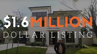 Contemporary $1.6 Million Dollar Home In Houston