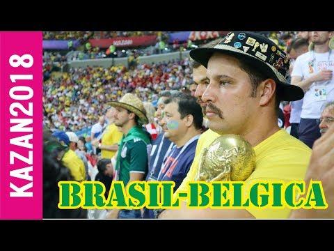 BRASIL - BÉLGICA 2018 l Por quién estuvieron los latinos???