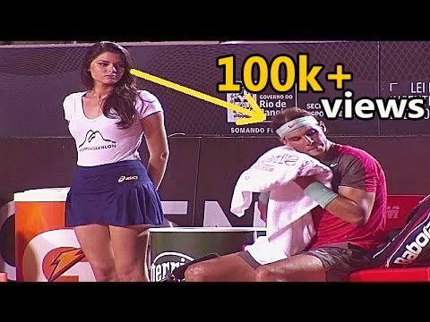 Best Funny and Craziest Moments in Tennis