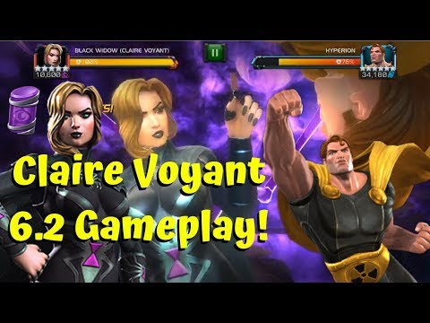 5-Star Claire Voyant Act 6.2 Gameplay! - Marvel Contest of Champions