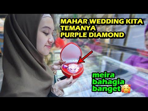 MAHAR WEDDING KITA TEMANYA PURPLE DIAMOND 😍
