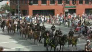 preview picture of video 'All Horse Parade-- Delaware, Ohio. 2008'
