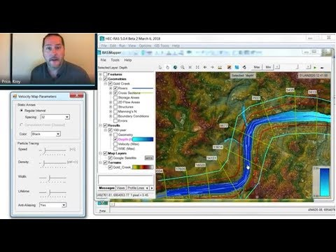 HEC-RAS Basics Part 1 of 7: Creating a 1D geometry file in RAS ...