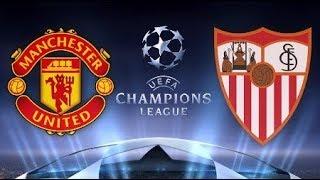 Футбол/ Лига Чемпионов УЕФА/ Манчестер Юнайтед  - Севилья 13.03.2018