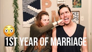 Our First Year Of Marriage- Three Hardest Things!