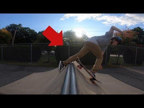 THIS WAS SKETCHY! (Northborough Skatepark)