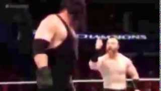 PM Network Kane returns and destroyes Seth Rollins and attacks Sheamus   WWE Night Of Champions 2015
