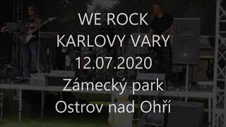 Video WE ROCK - Perfect Strangers - live in Zámecký park Ostrov CZ 202