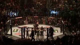 UFC 189 walkouts - Conor McGregor vs Chad Mendes
