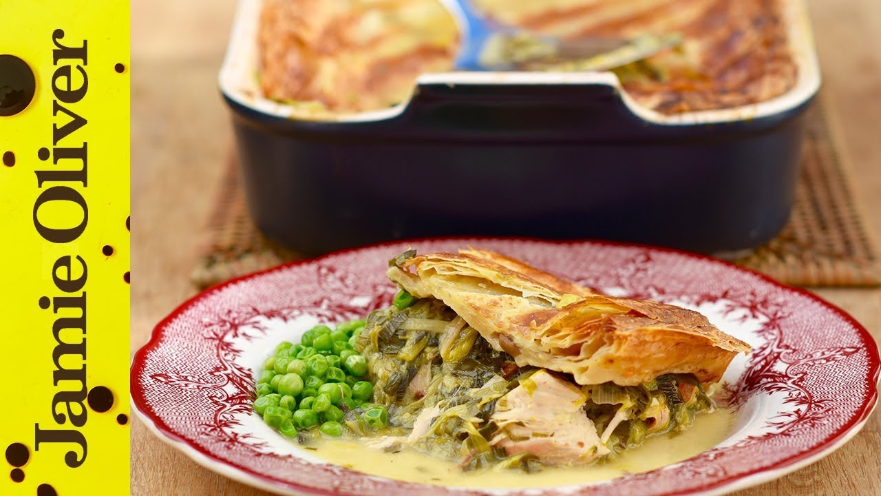 Christmas leftovers christmas jamie oliver leftover turkey and leek pie forumfinder Image collections