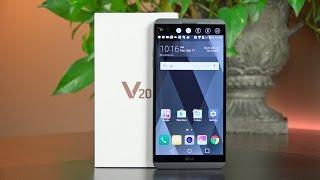 LG V20: Unboxing & Overview