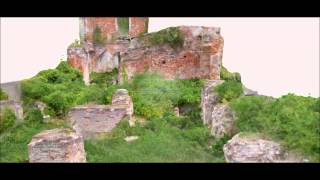 preview picture of video 'Bauwerksvermessung: Schloss Lieberose'