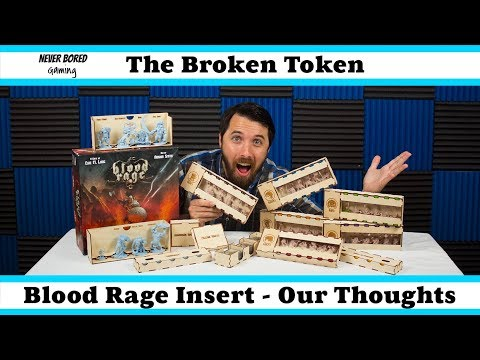 Never Bored Gaming - Custom Insert Review