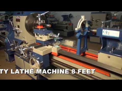 Big Bore Lathe Machine 8 Feet