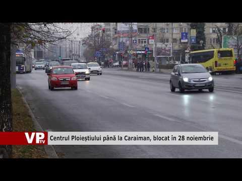 Centrul Ploieștiului până la Caraiman, blocat în 28 noiembrie