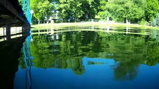 SJCAM SJ400 Test pod wodą - test under water. Jezioro