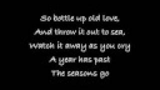 All American Rejects-My Paper Heart [Lyrics]