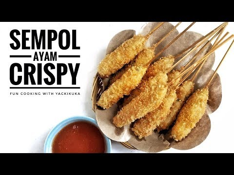 SEMPOL AYAM CRISPY * INDONESIAN CHICKEN SKEWERS