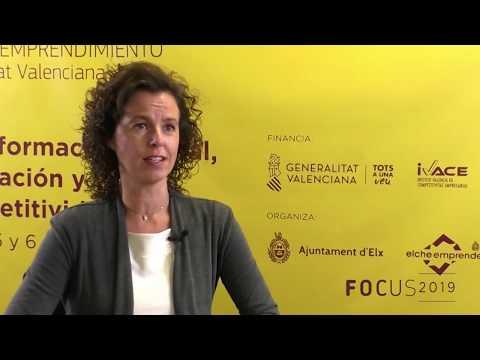 Mayte Vañó, de Distrito Digital Comunitat Valenciana en Focus Pyme CV 2019