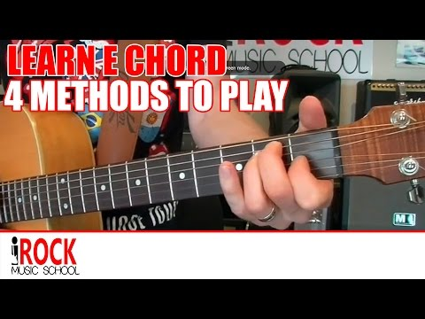 Learn how to play the E Chord on Guitar