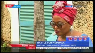 Hassan Omar picks hotelier Linda Shuma as his running as battle for Mombasa intensifies